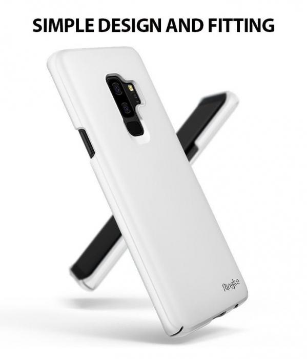 Husa Ringke Slim White pentru Samsung Galaxy S9 Plus 1