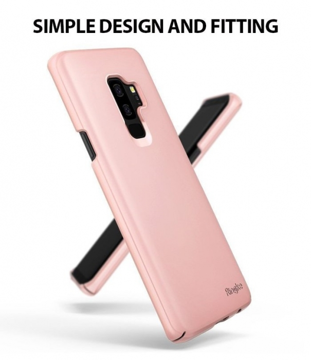 Husa Ringke Slim Rose pentru Samsung Galaxy S9 Plus 4