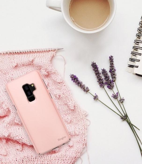 Husa Ringke Slim Rose pentru Samsung Galaxy S9 Plus 2