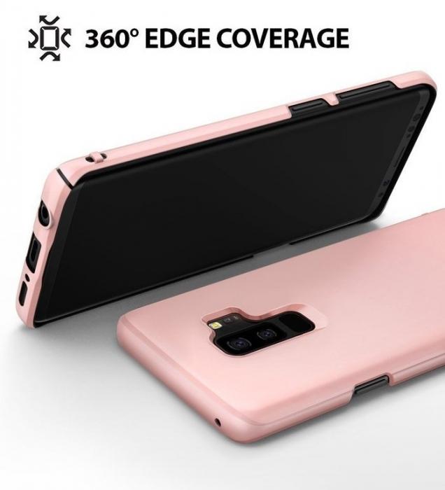 Husa Ringke Slim Rose pentru Samsung Galaxy S9 Plus 1