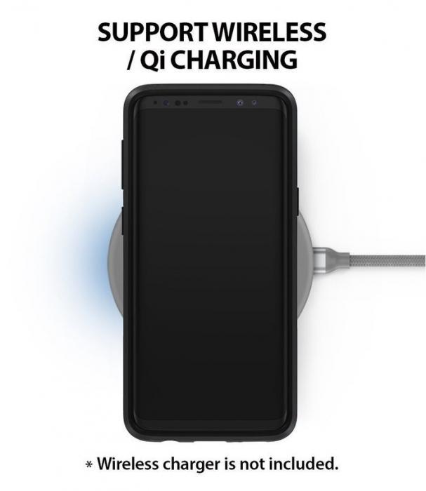 Husa Ringke Wave Black pentru Samsung Galaxy S9 Plus 6