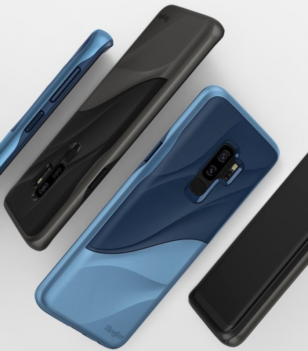 Husa Ringke Wave Black pentru Samsung Galaxy S9 Plus 4