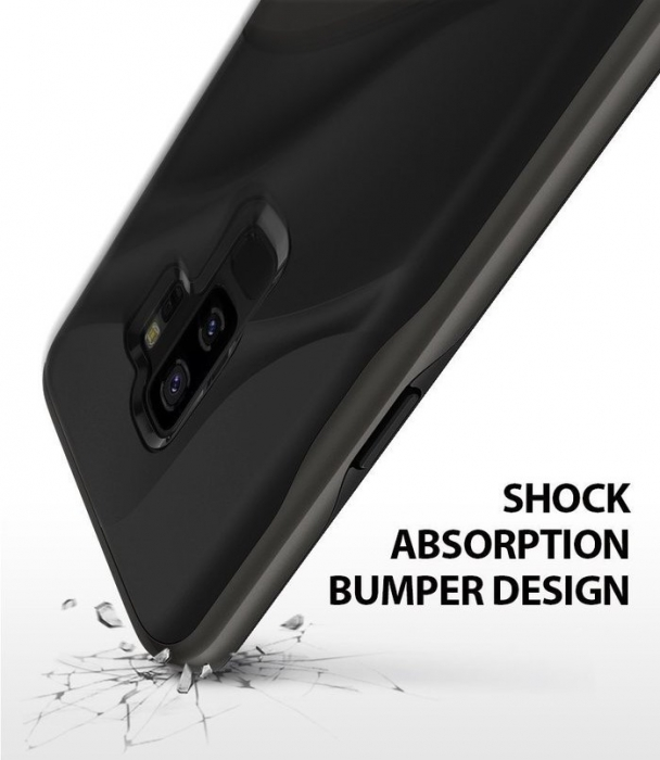 Husa Ringke Wave Black pentru Samsung Galaxy S9 Plus 1
