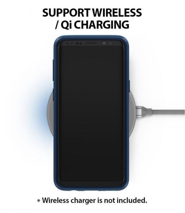 Husa Ringke Wave Blue Navy pentru Samsung Galaxy S9 Plus 5