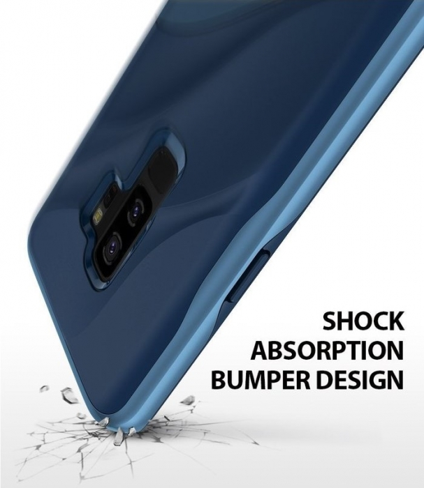 Husa Ringke Wave Blue Navy pentru Samsung Galaxy S9 Plus 3