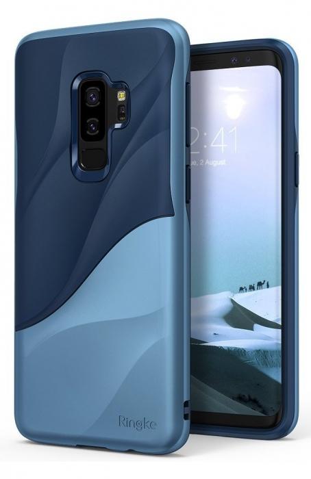 Husa Ringke Wave Blue Navy pentru Samsung Galaxy S9 Plus 2