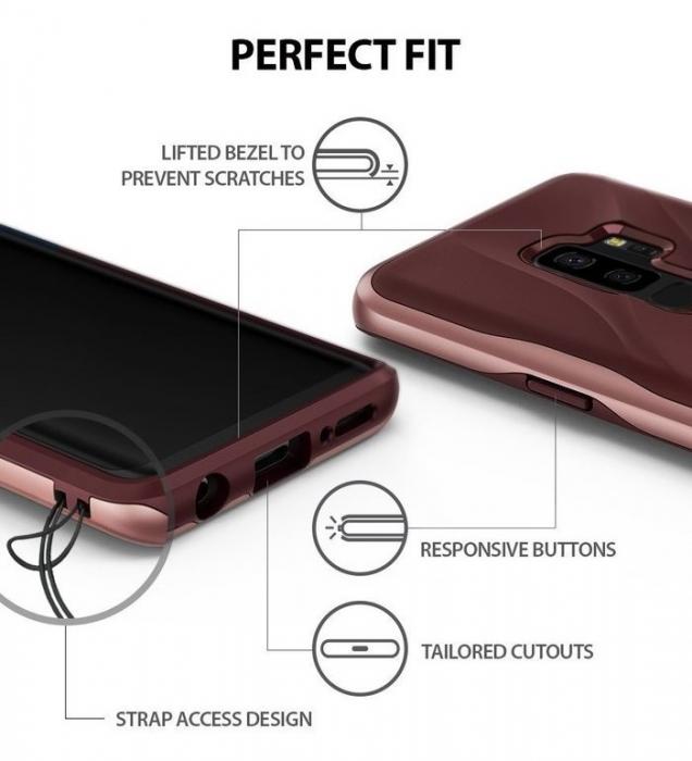Husa Ringke Wave Rose pentru Samsung Galaxy S9 Plus 7