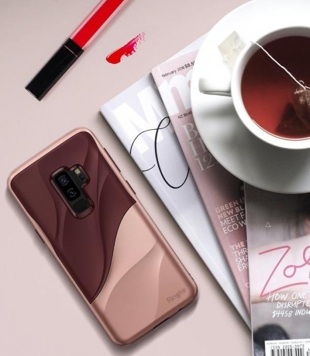 Husa Ringke Wave Rose pentru Samsung Galaxy S9 Plus 5