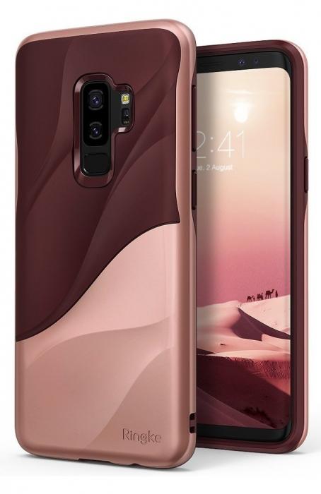 Husa Ringke Wave Rose pentru Samsung Galaxy S9 Plus 3