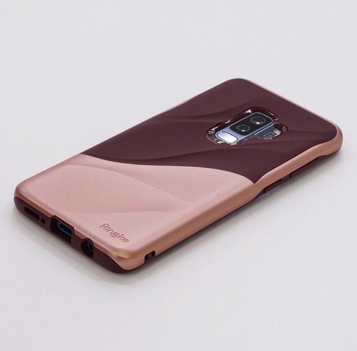 Husa Ringke Wave Rose pentru Samsung Galaxy S9 Plus 0