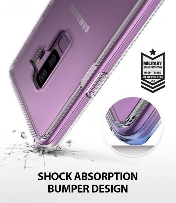 Husa Ringke Fusion Purple pentru Samsung Galaxy S9 5
