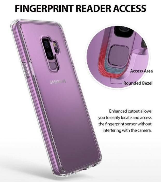 Husa Ringke Fusion Purple pentru Samsung Galaxy S9 3