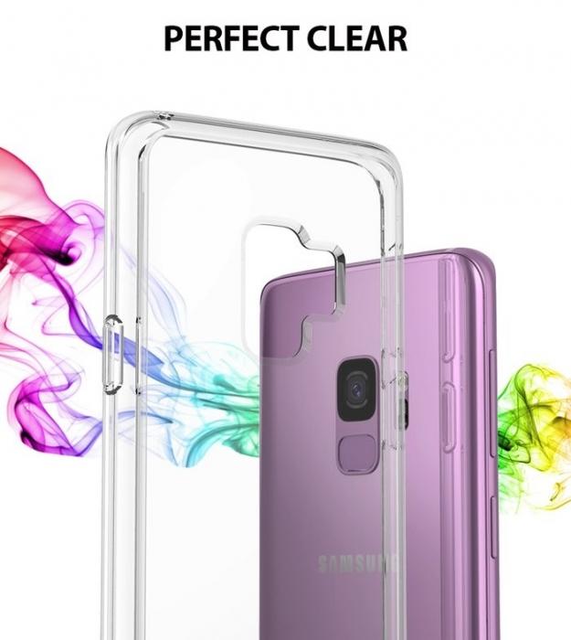Husa Ringke Fusion Purple pentru Samsung Galaxy S9 2