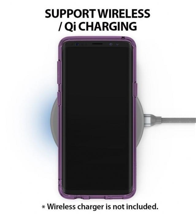 Husa Ringke Fusion Purple pentru Samsung Galaxy S9 1