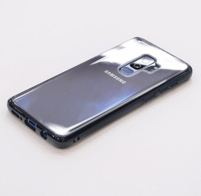 Husa Ringke Fusion Transparent-Fumuriu pentru Samsung Galaxy S9 4