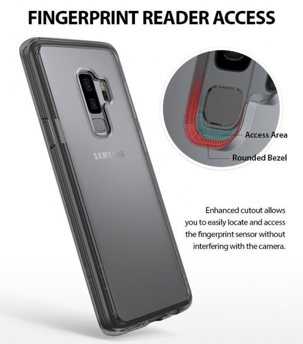 Husa Ringke Fusion Transparent pentru Samsung Galaxy S9 3