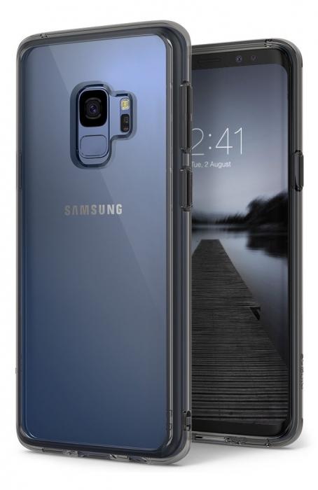 Husa Ringke Fusion Transparent-Fumuriu pentru Samsung Galaxy S9 0