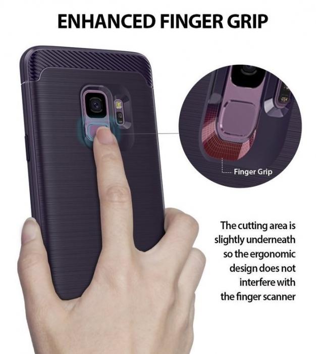Husa Ringke Onyx Violet pentru Samsung Galaxy S9 1