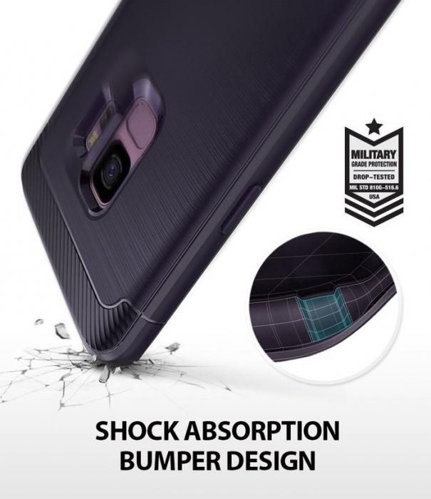 Husa Ringke Onyx Violet pentru Samsung Galaxy S9 3