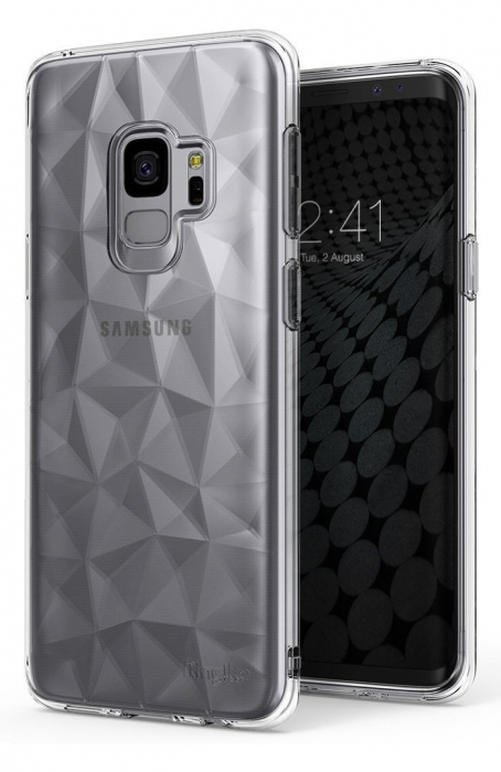 Husa Ringke Air Prism Grey pentru Samsung Galaxy S9 4