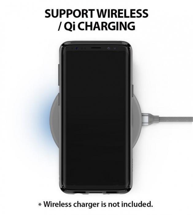 Husa Ringke Air Prism Black pentru Samsung Galaxy S9 5