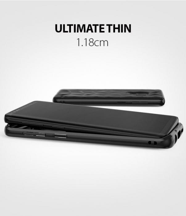 Husa Ringke Air Prism Black pentru Samsung Galaxy S9 4