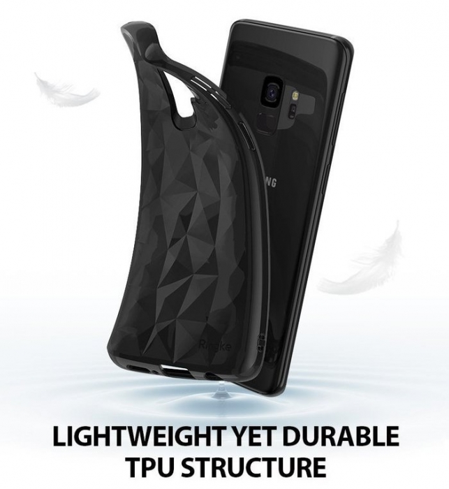 Husa Ringke Air Prism Black pentru Samsung Galaxy S9 2
