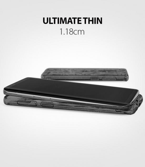 Husa Ringke Air Prism Grey Glitter pentru Samsung Galaxy S9 7