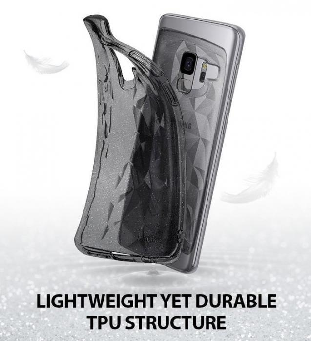 Husa Ringke Air Prism Grey Glitter pentru Samsung Galaxy S9 5