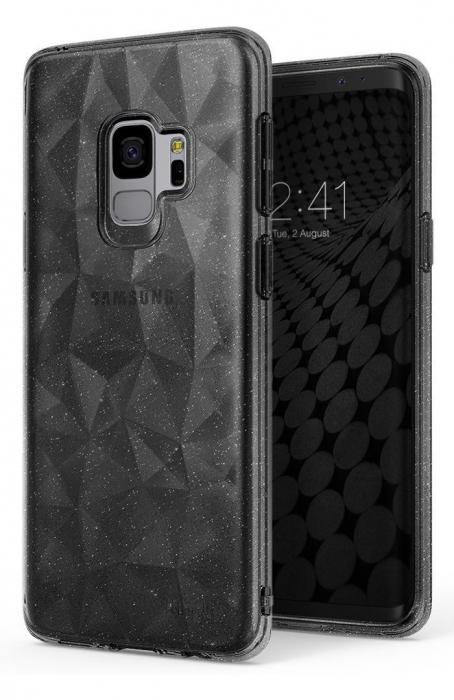 Husa Ringke Air Prism Grey Glitter pentru Samsung Galaxy S9 1