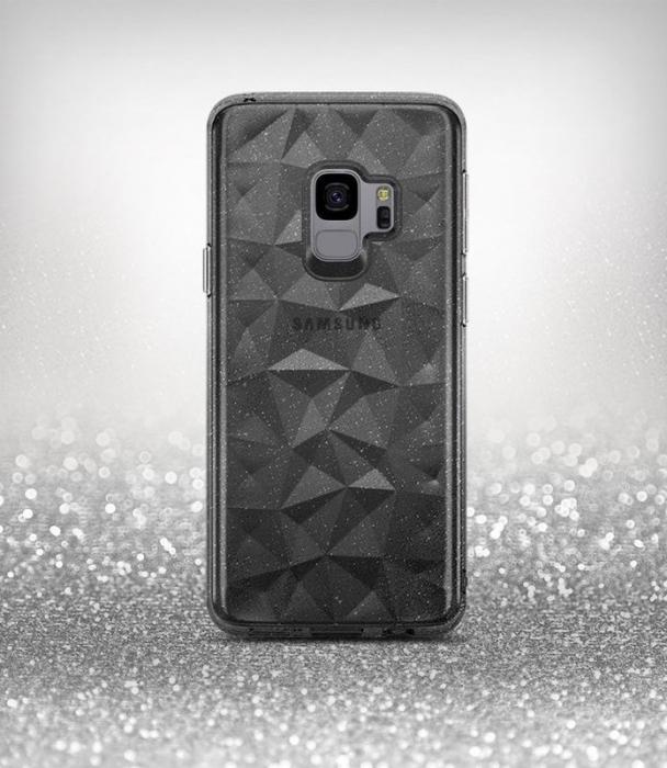 Husa Ringke Air Prism Grey Glitter pentru Samsung Galaxy S9 0