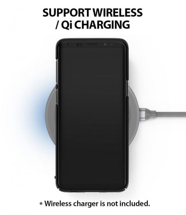Husa Ringke Slim Black pentru Samsung Galaxy S9 5