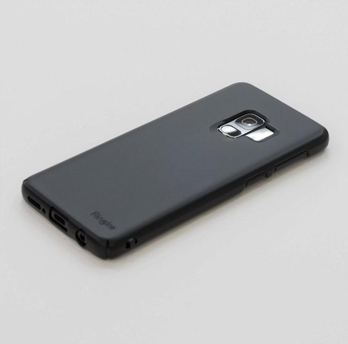 Husa Ringke Slim Black pentru Samsung Galaxy S9 4
