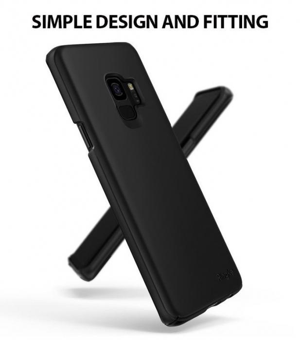 Husa Ringke Slim Black pentru Samsung Galaxy S9 3