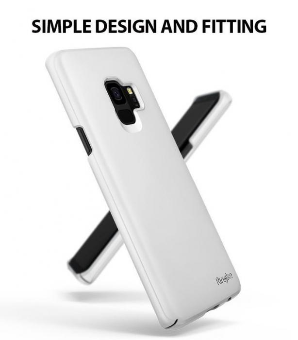 Husa Ringke Slim White pentru Samsung Galaxy S9 1
