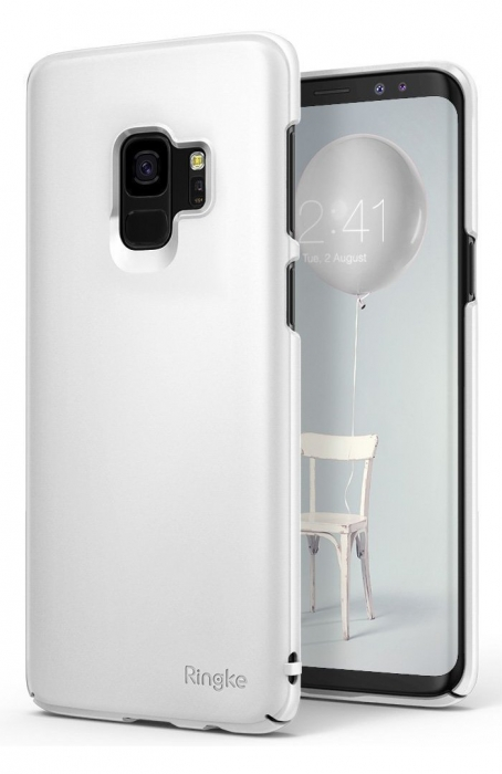 Husa Ringke Slim White pentru Samsung Galaxy S9 4