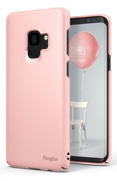 Husa Ringke Slim Rose pentru Samsung Galaxy S9 4