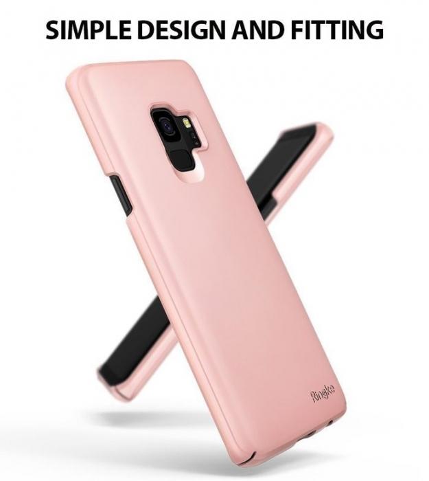 Husa Ringke Slim Rose pentru Samsung Galaxy S9 3