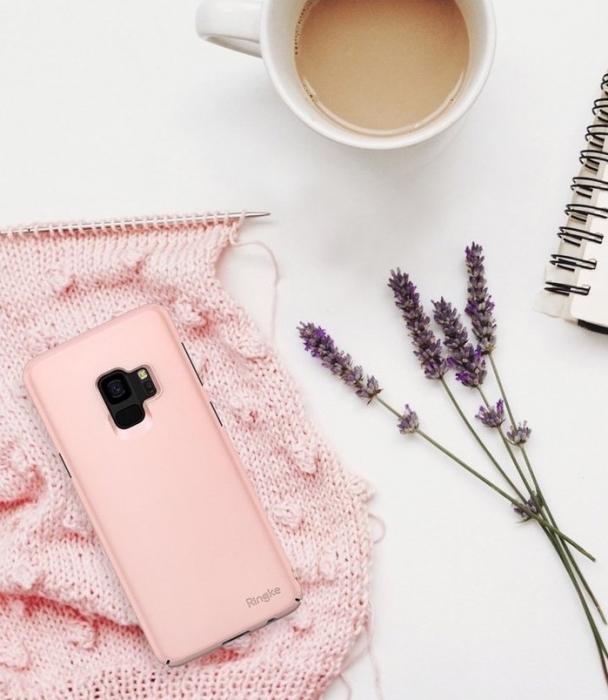 Husa Ringke Slim Rose pentru Samsung Galaxy S9 0