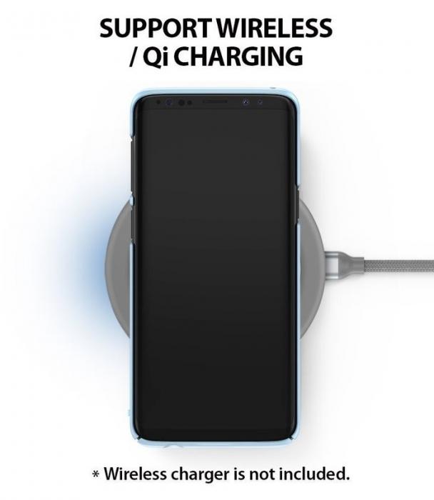 Husa Ringke Slim Blue pentru Samsung Galaxy S9 7