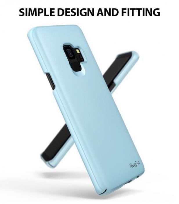 Husa Ringke Slim Blue pentru Samsung Galaxy S9 4