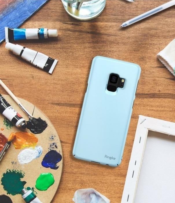 Husa Ringke Slim Blue pentru Samsung Galaxy S9 0
