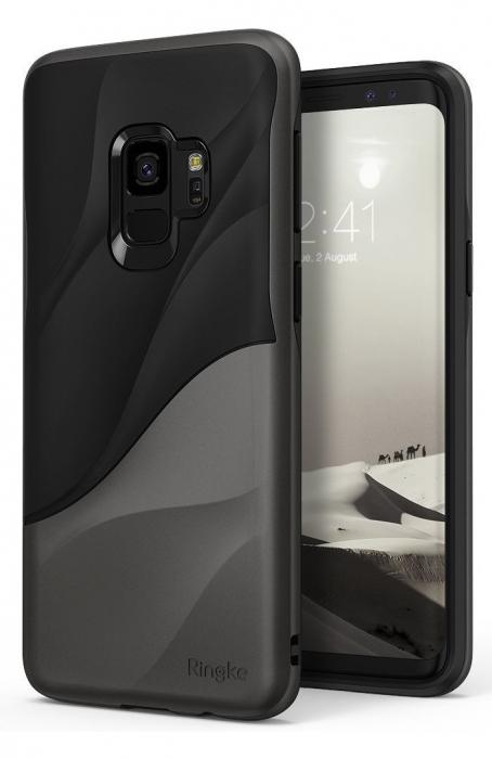 Husa Ringke Wave Black pentru Samsung Galaxy S9 2