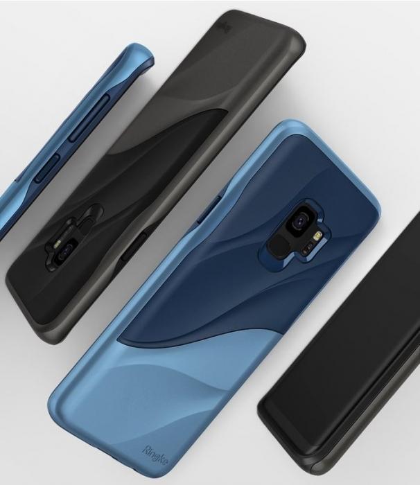 Husa Ringke Wave Blue pentru Samsung Galaxy S9 0