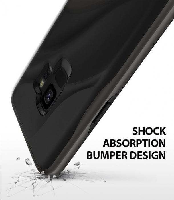 Husa Ringke Wave Black pentru Samsung Galaxy S9 3