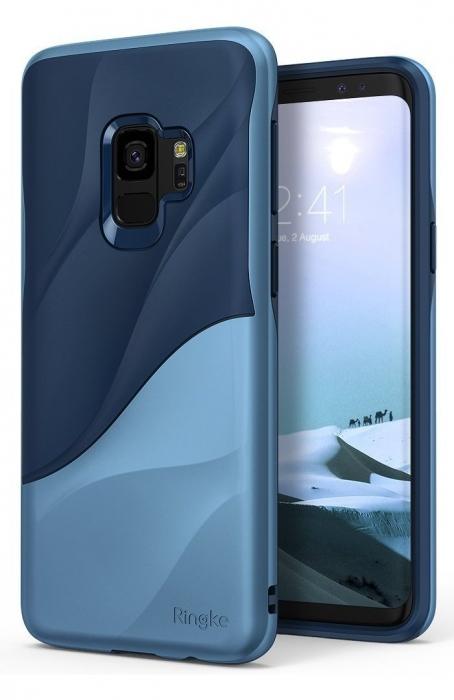 Husa Ringke Wave Blue pentru Samsung Galaxy S9 6