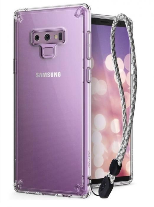 Husa Ringke Fusion Transparent pentru Samsung Galaxy Note 9 8