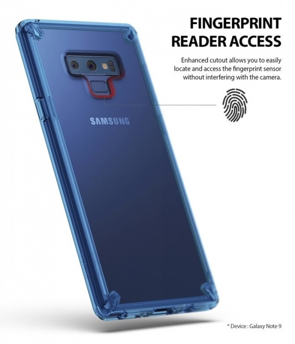 Husa Ringke Fusion Transparent Fumuriu pentru Samsung Galaxy Note 9 6