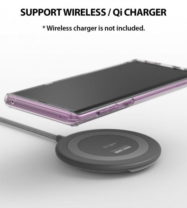 Husa Ringke Fusion Transparent Fumuriu pentru Samsung Galaxy Note 9 7