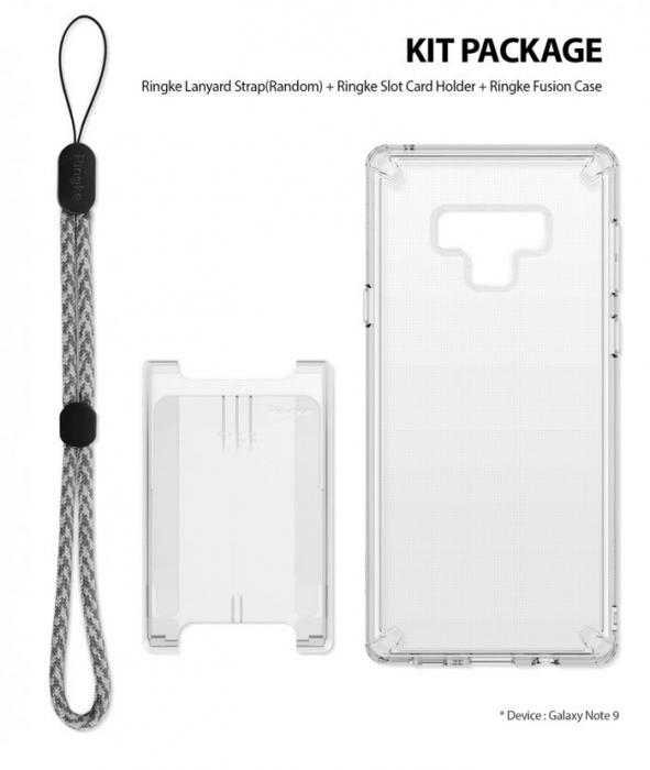 Husa Ringke Fusion Transparent pentru Samsung Galaxy Note 9 0